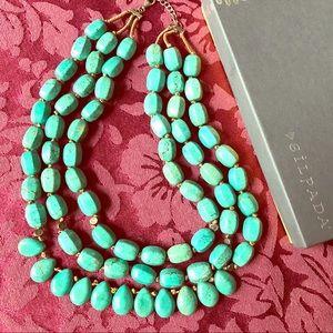 "Silpada ""Drops of Ocean"" statement necklace"